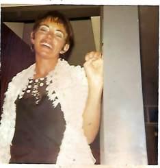 Pretoria circa 1972. Kuier saam met vriende Fanie en Petro Swanepoel